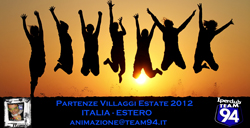 Partenze Italia-Estero estate 2012